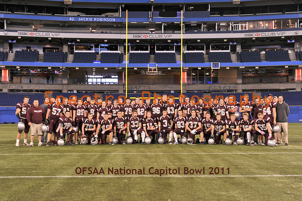 OFSAA Football Bowl Games 2011