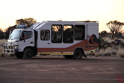 eview Wild Dog Safari 2 week tour Namibia:Transportation