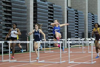Girls 55m Hurdles