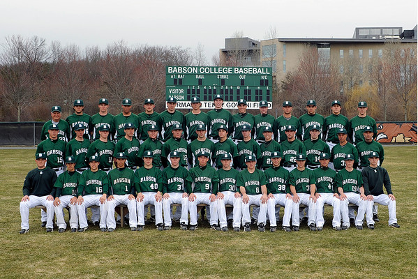 BABSON BASEBALL TEAM AND PORTRAITS  3.31.2011