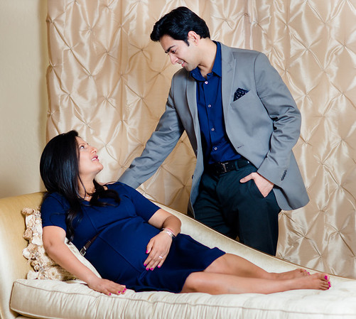 Shalini + Ankur Maternity Shoot