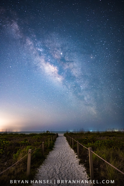 Milky Way over Sanibel