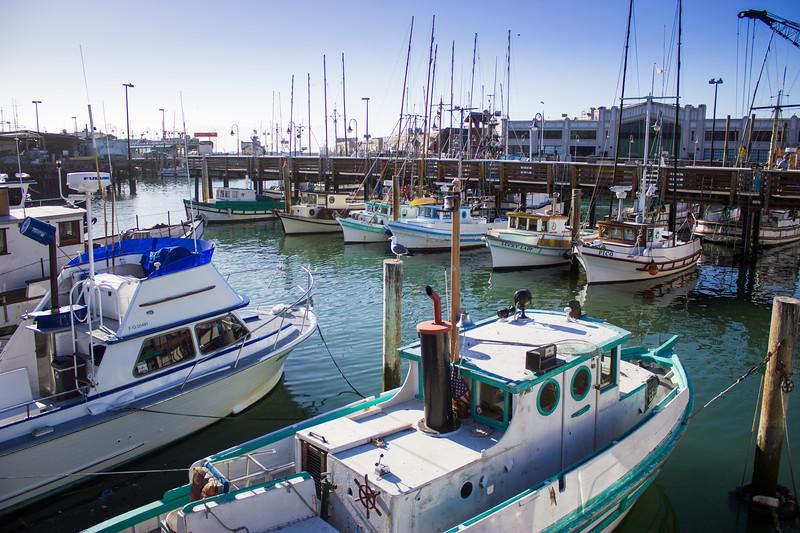 Fishermans Warf Docks SF