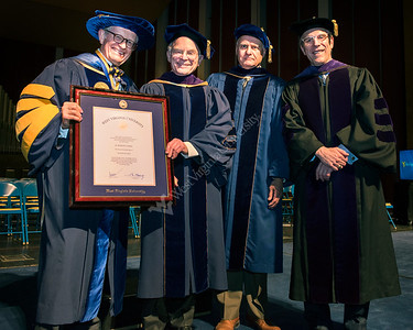 2016 Presidential Honorary Degree Recipient
