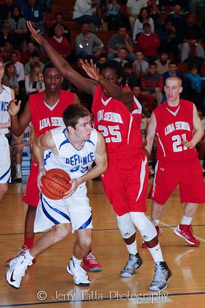 DHS Boys Basketball 02-09-2013