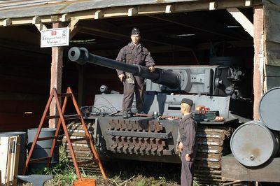 R/C Tank Testing