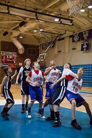 PBS 8th Grade Basketball & Jr Steppers 01/31/11
