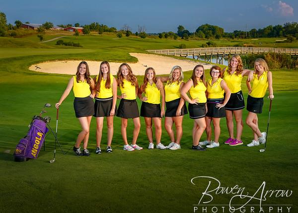 W Golf Team 2014