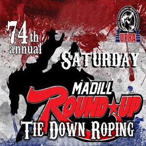 Madill Satruday Night Tie Down Roping