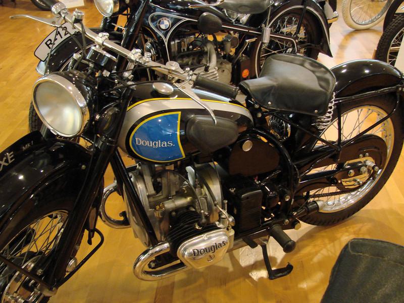 1948 Douglas 350cc transverse twin