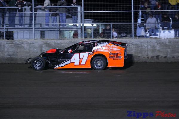 USMTS Junction Motor Speedway McCool Juntion, NE 3-6-09 mod heats