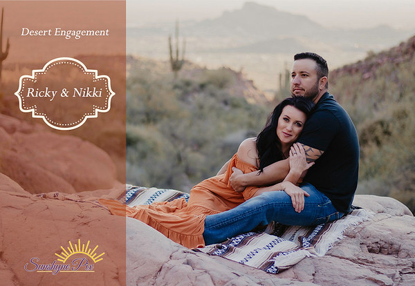 Nicky & Ricky :: Desert Engagement :: Superstition Mountains