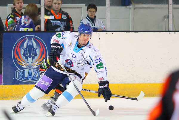 Blaze v Sheffield Steelers - 30/10/2011