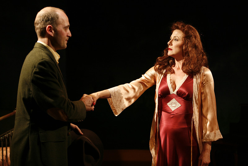 Timothy Deenihan and Leslie Hendrix in SUSAN AND GOD by Rachel Crothers  Photo: Richard Termine