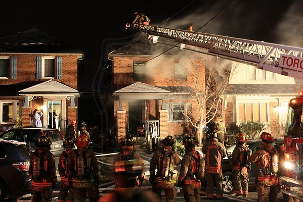 November 28, 2013 - 2nd Alarm - 27 Whitewood Rd.