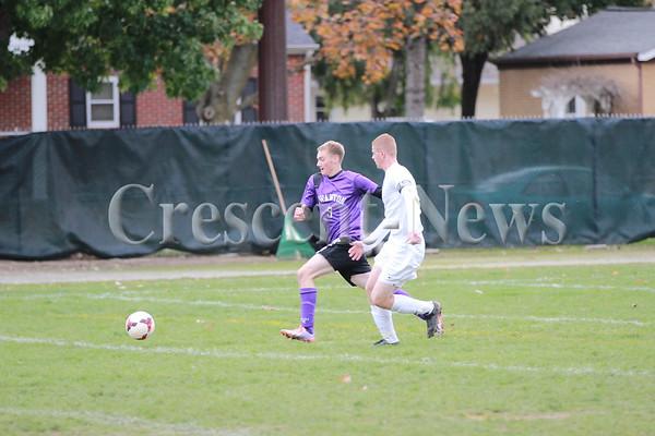 10-18-14 SPORTS DIII Boys Soccer Sectional Championship @ Archbold  Archbold vs Swanton