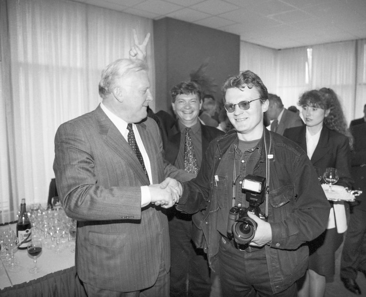 A.M.Brazauskas, Rytas Staselis ir aš.