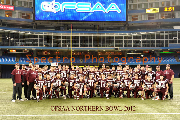 OFSAA Football 2012 Teams and Officials