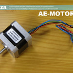 SKU: AE-MOTOR/42S, 42HS40 Series Single Phase 4 Leads Wire with Plug Step Motor with 1.8 Step Angle