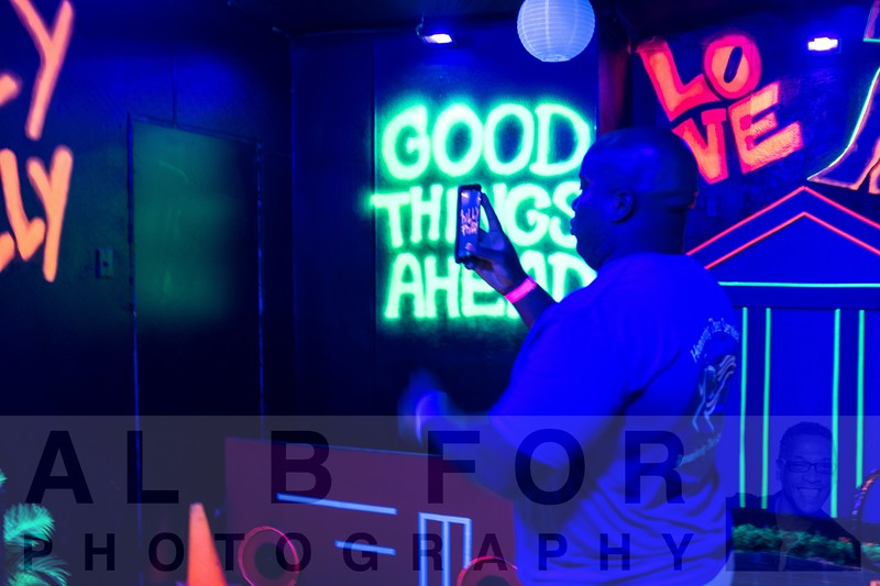 Aug 16, 2019 Neon Nights at Photo Pop