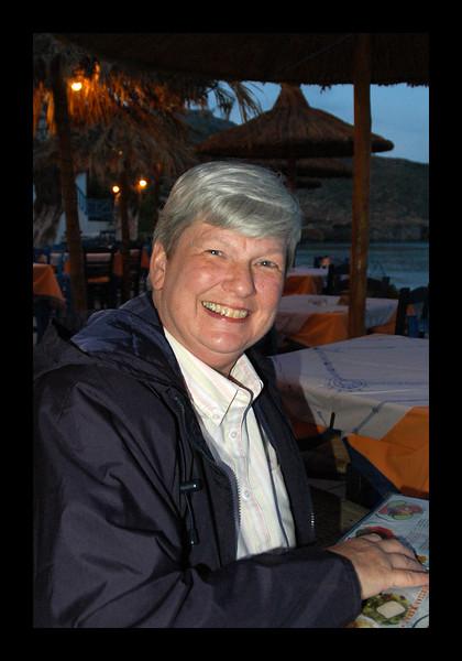 At the Port below Oia - Santorini - 2006.jpg