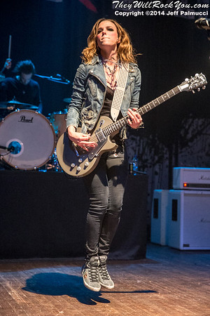 Halestorm <br> November 29, 2014 <br> The Palladium - Worcester, MA <br> Photos by: Jeff Palmucci
