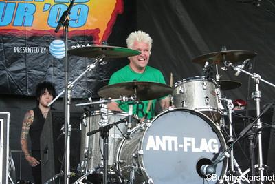 Anti-Flag @ Seaside Park (Ventura, CA); 6/28/09