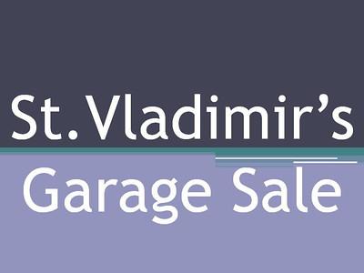 St. Vladimir's Garage Sale