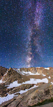 Mt. Whitney - My First Milky Way