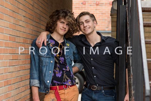 Nathan and Austin