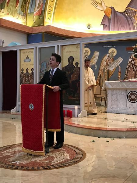 Community Life - Christanthus Speech Sermon - May 1, 2017
