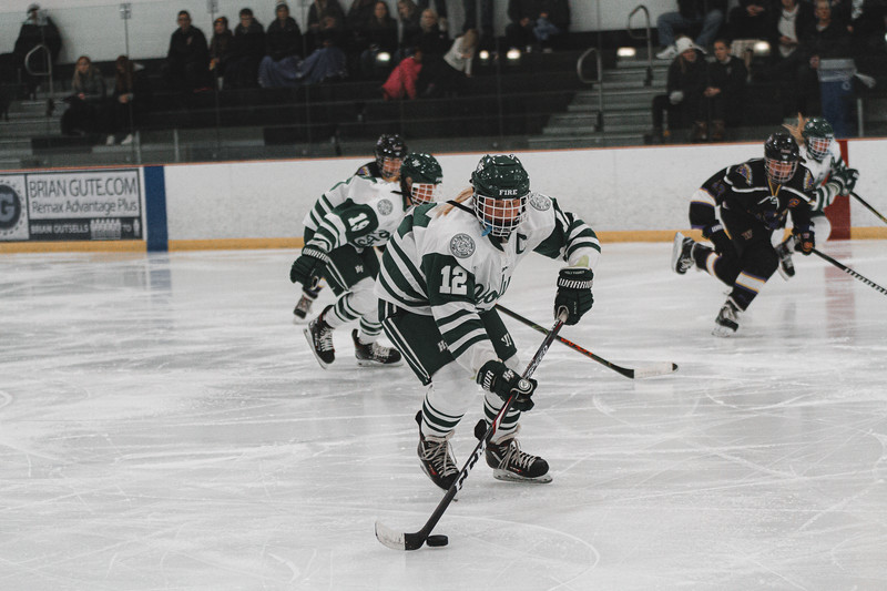 Holy Family Varsity Girls Hockey vs. Waconia, 1/9/20: Caitlin Rock '20 (12)