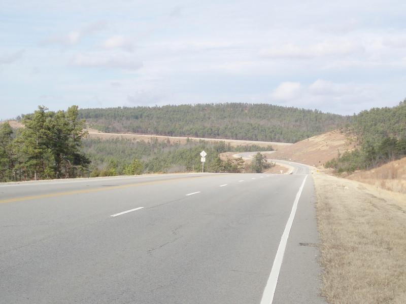 Oklahoma Hwy 82 north of Talihina