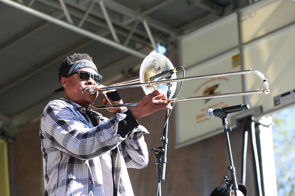 Corey Henry & The Treme Funktet Congo Square Rhythms Festival and Tremé Gumbo Festival 2019