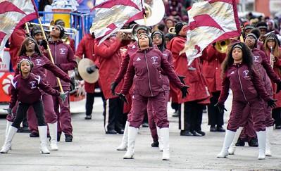 HS Sports - River Rouge Football Parade - Alex