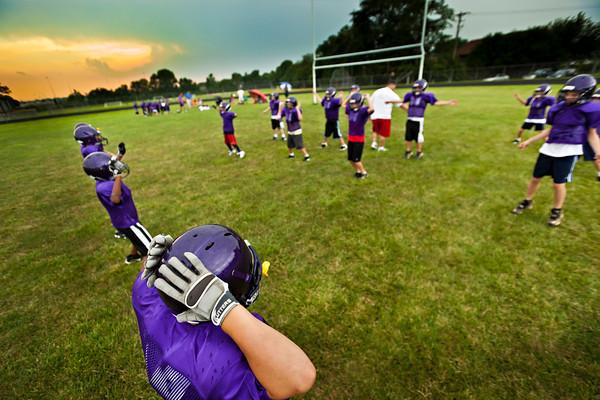 Junior Raiders Practice