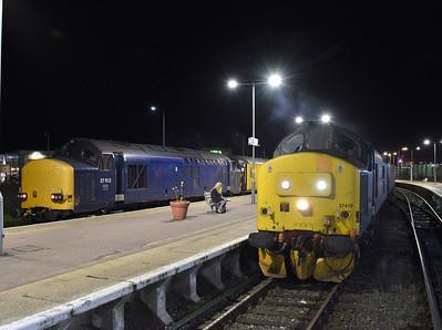 Anglia Class 37s. 07/11/18 - 09/11/18.