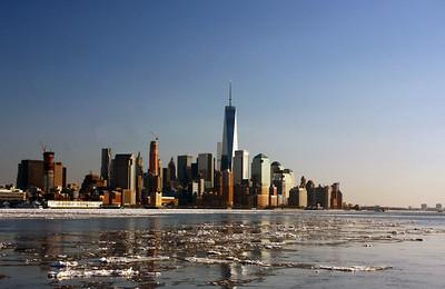 Hudson River / Skyline 2-20-15