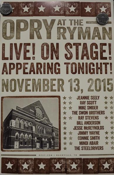 Nashville - Grand Ole Opry