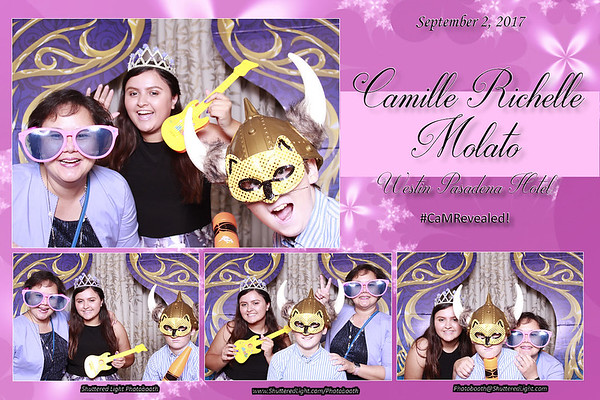 Camille Debut Photo Booth