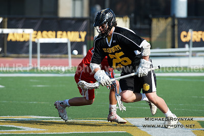 Lacrosse, Boys JV, #25 St Anthonys Vs St johns 04.21.15