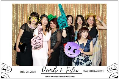 Oanh & Felix's Wedding 7/28/18