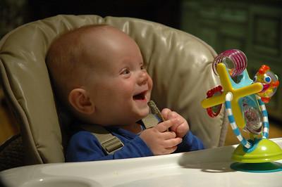 Make me laugh Nonno!