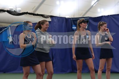 4.25.21 Queens College Women's Tennis vs. ST. Thomas Aquinas