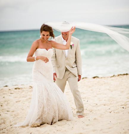 Mexico Beach Wedding Playa Del Carmen