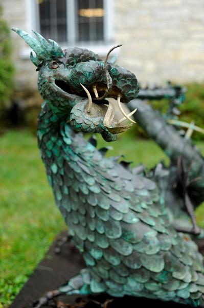 Sculpture in Bennington, VT