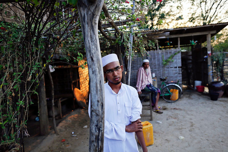. Soe Min Oo, a student who survived an attack on an Islamic school in Meikhtila poses for picture in a village outside the town April 24, 2013. In Myanmar\'s central heartlands, justice and security is elusive for thousands of Muslims who lost their homes in a deadly rampage by Buddhist mobs in March. Many are detained in prison-like camps, unable to return to neighborhoods and businesses razed in four days of violence in Meikhtila that killed at least 43 people, most of them Muslims, displaced nearly 13,000, and touched off a wave of anti-Muslim unrest fueled by radical Buddhist monks.  Picture taken April 24, 2013. REUTERS/Damir Sagolj