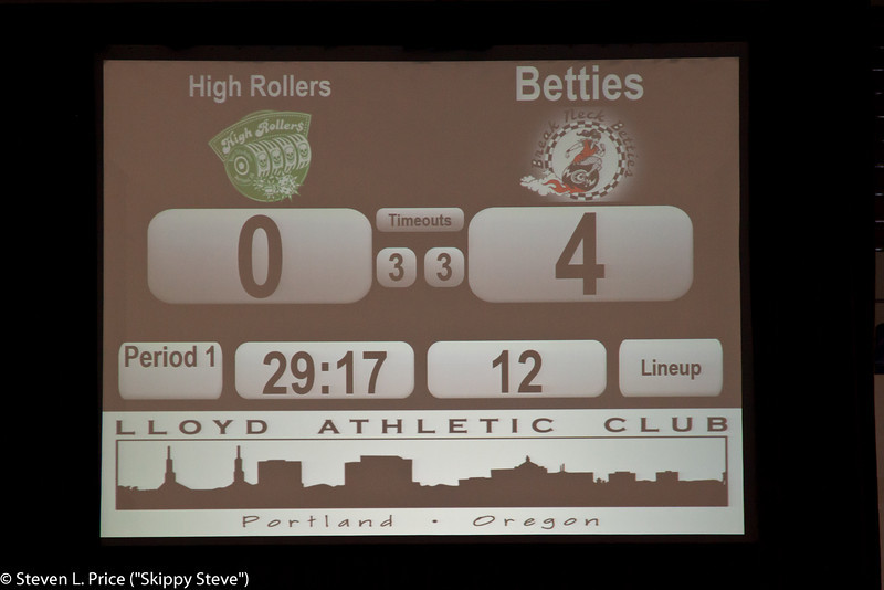 6-2-12, Betties v. HR, First Half
