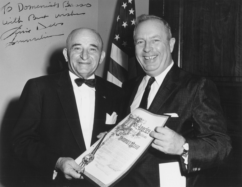 1958, Receiving City Award