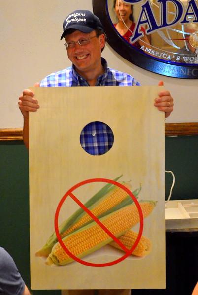 Let's eliminate the world of corn for Mark's sake.